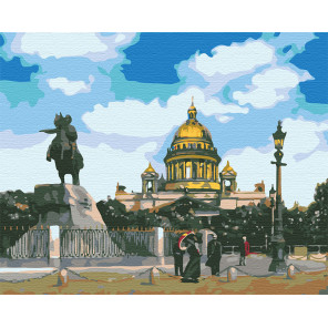 Санкт-Петербург Раскраска по номерам на холсте Живопись по номерам
