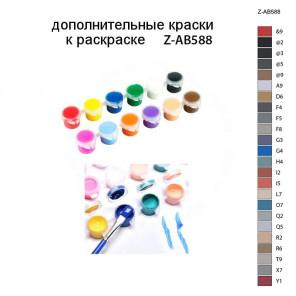 Дополнительные краски для раскраски Z-AB588