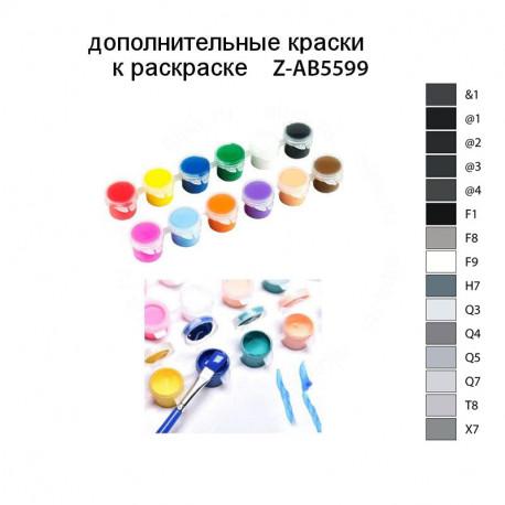 Дополнительные краски для раскраски Z-AB5599