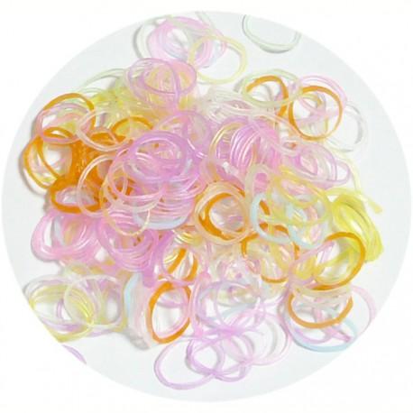 Нежные оттенки 300шт Резиночки для плетения Color Kit
