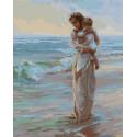 Мать и дитя Раскраска картина по номерам на холсте GX38310
