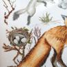 Пример вышитой работы Зоология. Лисица обыкновенная Набор для вышивания Марья Искусница 03.014.17