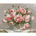 Розовый вечер Раскраска картина по номерам на холсте KH0605