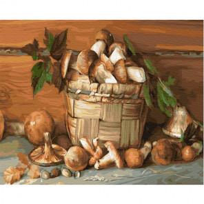 Деревенский натюрморт Раскраска картина по номерам на холсте KH0670