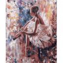 Перед танцем Раскраска картина по номерам на холсте KH0625