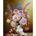 Свежий букет Раскраска картина по номерам на холсте KH0644