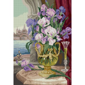 Петербургская соната Алмазная вышивка (мозаика) Sophiebeauty