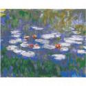 Кувшинки Клод Моне Импрессионизм Раскраска картина по номерам на холсте