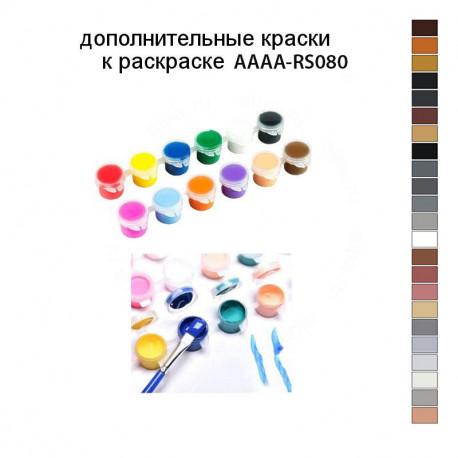 Дополнительные краски для раскраски AAAA-RS080