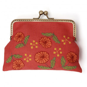 Восхищаюсь цветами Набор для вышивания кошелька XIU Crafts 2860302