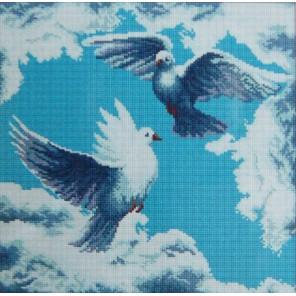 Любовь и голуби Алмазная вышивка (мозаика) Sophiebeauty