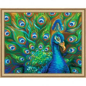 Дикие перья Раскраска (картина) по номерам акриловыми красками Dimensions