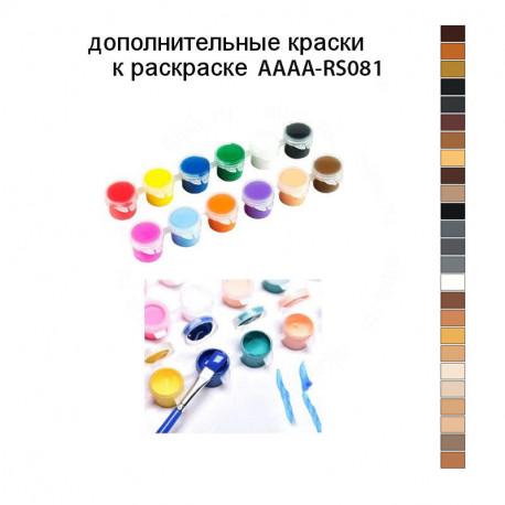 Дополнительные краски для раскраски AAAA-RS081