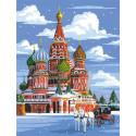 Зимний собор Алмазная мозаика вышивка Гранни