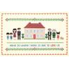 Дом с красной крышей Набор для вышивания XIU Crafts 2870701