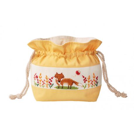 Лиса Набор для вышивания сумки на шнурке XIU Crafts 2860502