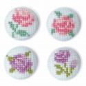 Цветы Набор для вышивания заколок XIU Crafts 2871101