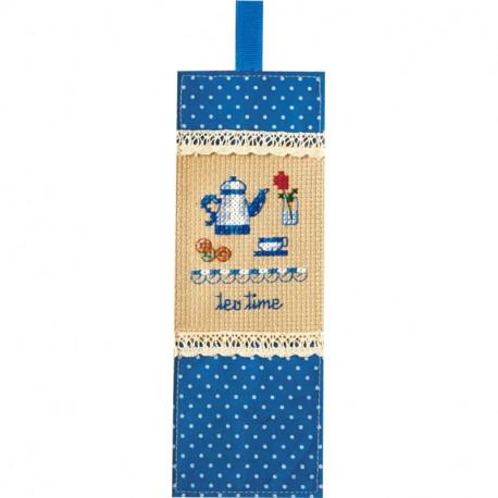 Чаепитие Набор для вышивания закладки XIU Crafts 2871202