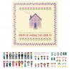Розовая мансарда Набор для вышивания XIU Crafts 2870705