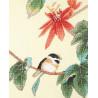 Птица на ветке Набор для вышивания XIU Crafts 2031203