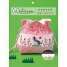 Внешний вид упаковки Цветок и кошка Набор для вышивания сумки на шнурке XIU Crafts 2860503