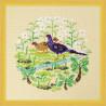Пример оформления в рамку Тайваньский фазан Набор для вышивания XIU Crafts 2030409