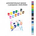 Дополнительные краски для раскраски AAAA-RS083