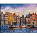 Амстердам Алмазная вышивка мозаика АЖ-1832