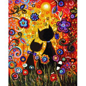 Магия красок Раскраска картина по номерам на холсте GX29895