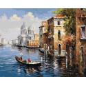 Утро Венеции Раскраска картина по номерам на холсте GX8606