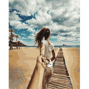Следуй за мной. Таиланд Раскраска картина по номерам на холсте GX24421