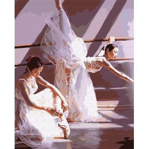 Жизнь балерин Раскраска картина по номерам на холсте G400