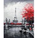 Мосты Парижа Раскраска картина по номерам на холсте GX29901