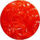 Красные блестящие однотонные 300шт Резиночки для плетения