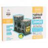 Внешний вид коробки Замок Чайный домик с алмазной мозаикой Гранни Wood W0005