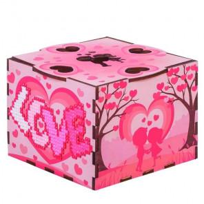Внешний вид коробки Любовь Шкатулка Гранни Wood W0055