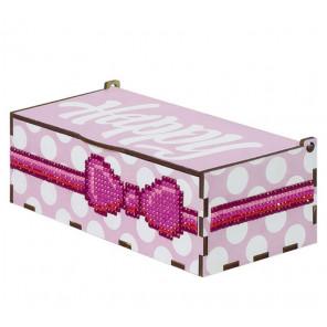 Хеппи розовая Шкатулка Гранни Wood W0057