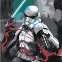 Штурмовик с мечом Раскраска картина по номерам на холсте