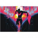 Бэтмен будущего 100х150 Раскраска картина по номерам на холсте