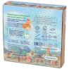 Оборотная сторона коробки Пончик Алмазная мозаика подвеска Гранни Wood W0183