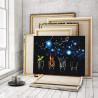 Четыре стихии 100х125 см Раскраска картина по номерам на холсте AAAA-RS105-100x125