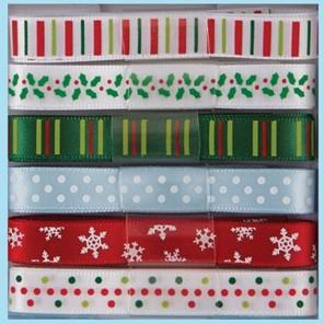 Pippinwood Christmas Набор лент для скрапбукинга, кардмейкинга Docrafts