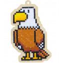 Орел Алмазная мозаика подвеска Гранни Wood W0190