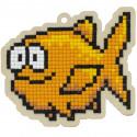Морская рыба Алмазная мозаика подвеска Гранни Wood W0358