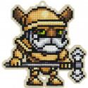 Воин Алмазная мозаика подвеска Гранни Wood W0372
