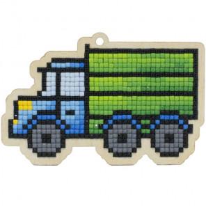 Фургон Алмазная мозаика подвеска Гранни Wood W0422