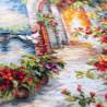 Пример вышитой работы Где сбываются мечты Набор для вышивания Чудесная игла 110-082