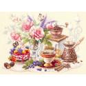 На чашечку кофе...? Набор для вышивания Чудесная игла 120-203