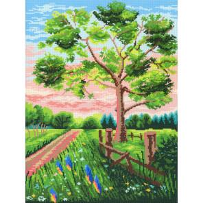 Чарующий пейзаж Канва с рисунком для вышивки МП Студия СК-115