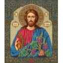 Иисус Христос – Лоза истинная Набор для частичной вышивки бисером Русская искусница 508
